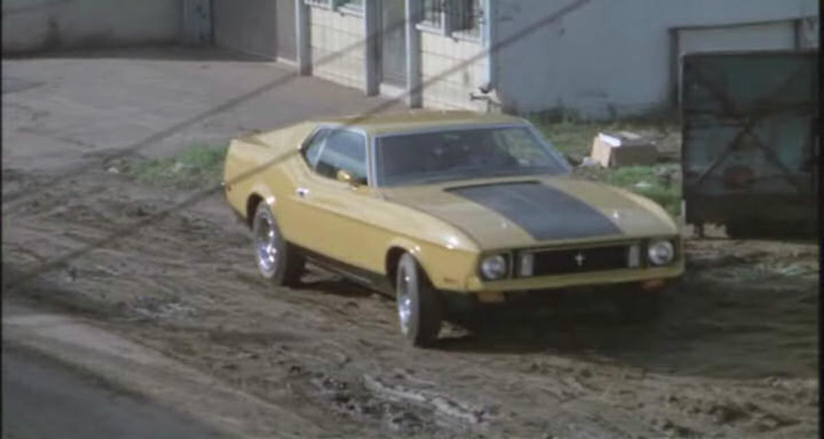 "The 1973 Ford Mustang Mach 1 used in Gone in 60 Seconds (1974) which was called  ""Eleanor."""