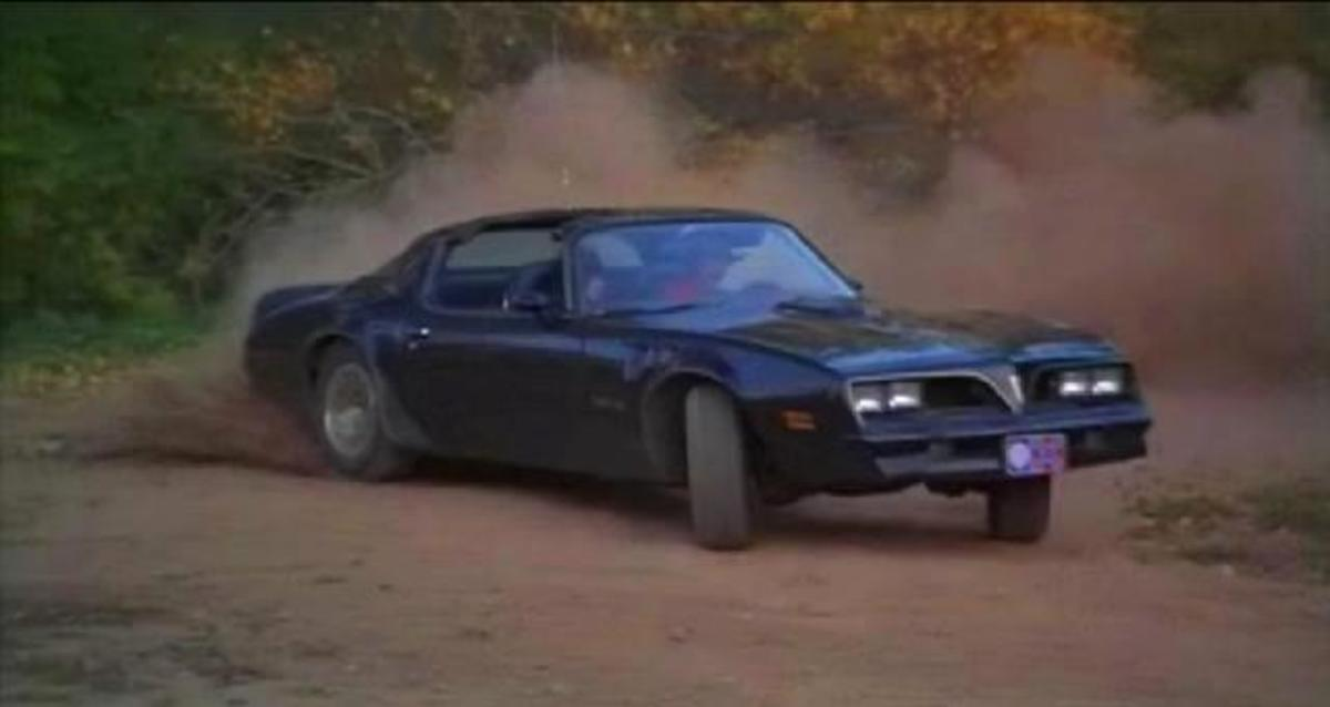 The 1977 Pontiac Tans Am from Smoky and the Bandit (1977).