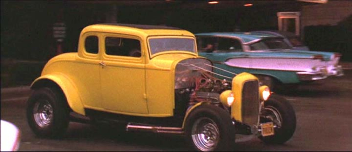 The 1932 Ford Coupe from American Graffiti (1973).