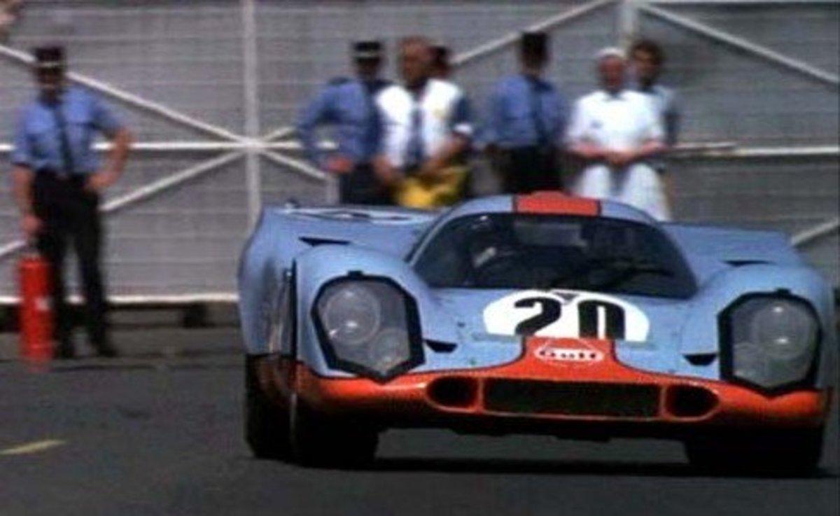 1971 Porsche 917 from Le Mans (1971).