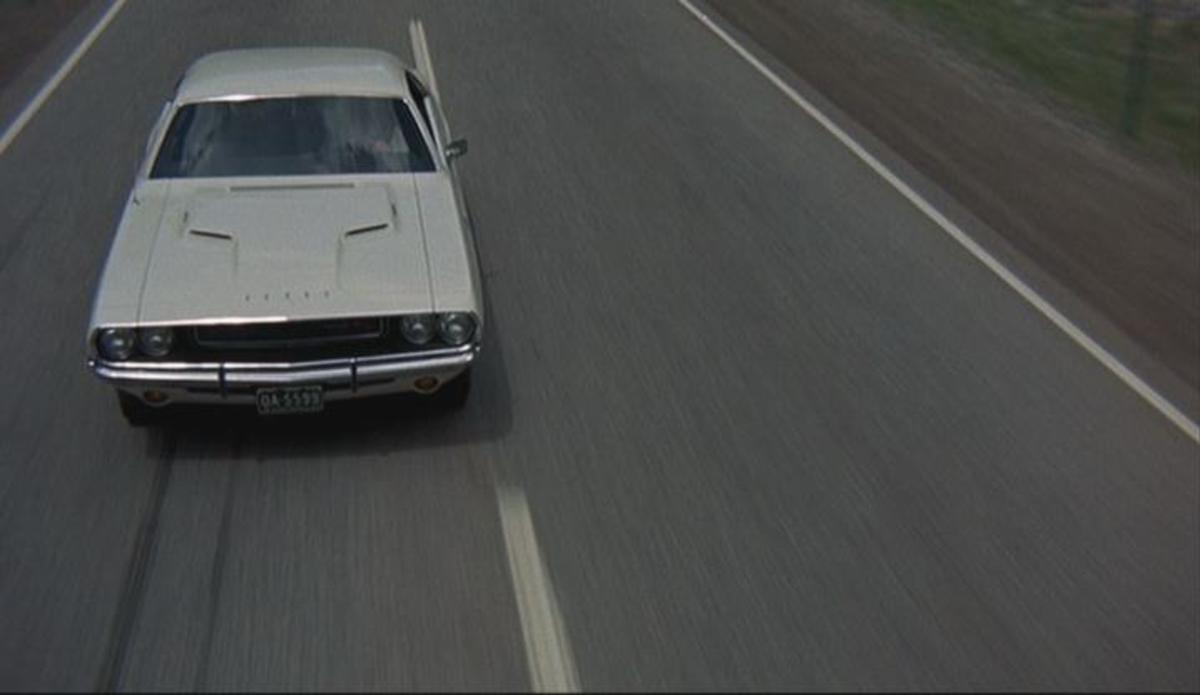The 1970 Dodge Challenger R/T from Vanishing Point and Death Proof (1971, 2007).