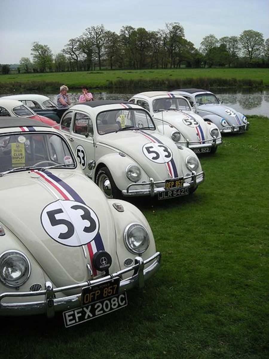 The 1963 Volkswagen Type 1 (Beetle) featured in Love Bug (1968, 1997).