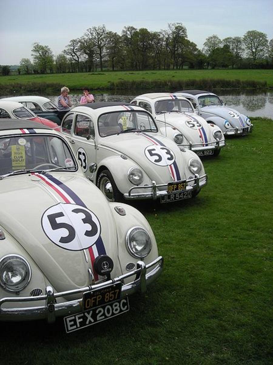 The 1963 Volkswagen Type 1 (Beetle) featured in Love Bug (1968, 1997).