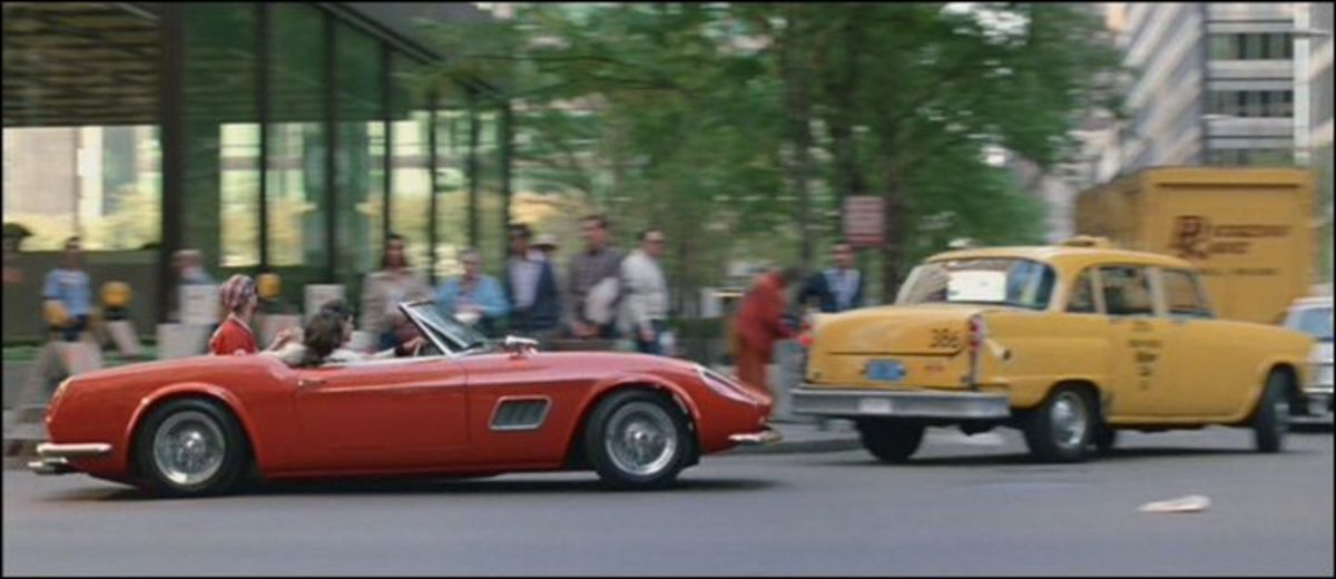 The 1961 Ferrari 250 GT California Spider featured in Ferris Bueller's Day Off (1986).