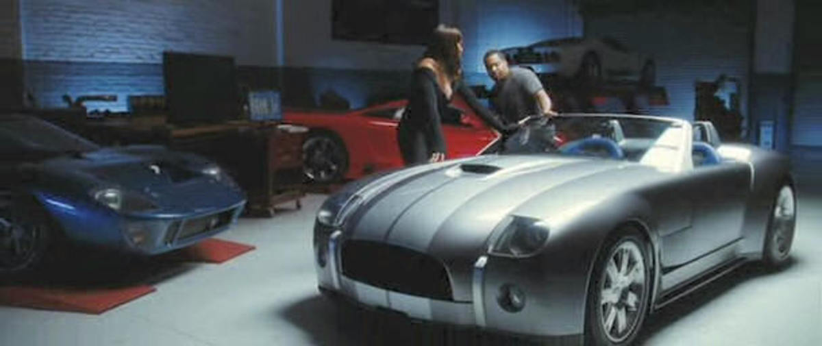 The 2005 Shelby Cobra Prototype in xXx 2.