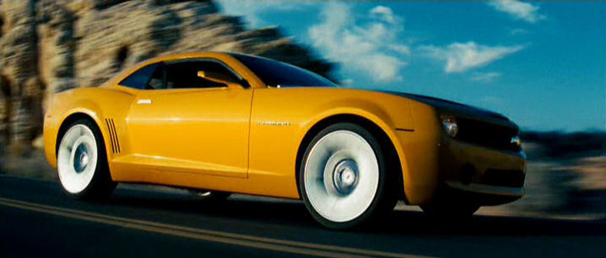 "The 2009 Chevrolet Camaro used in Transformers (2007) that was called ""Bumblebee."""