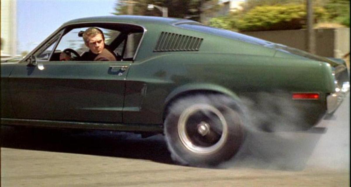 The 1968 Ford Mustang GT390 Fastback from Bullitt (1968).