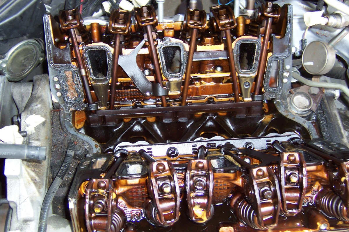 Chevy 3.1 Liter Engine: Leaking Intake Manifold Gasket and Warped ...