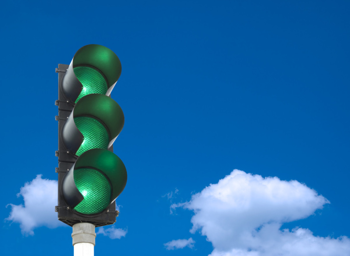 Don't trust a green light.
