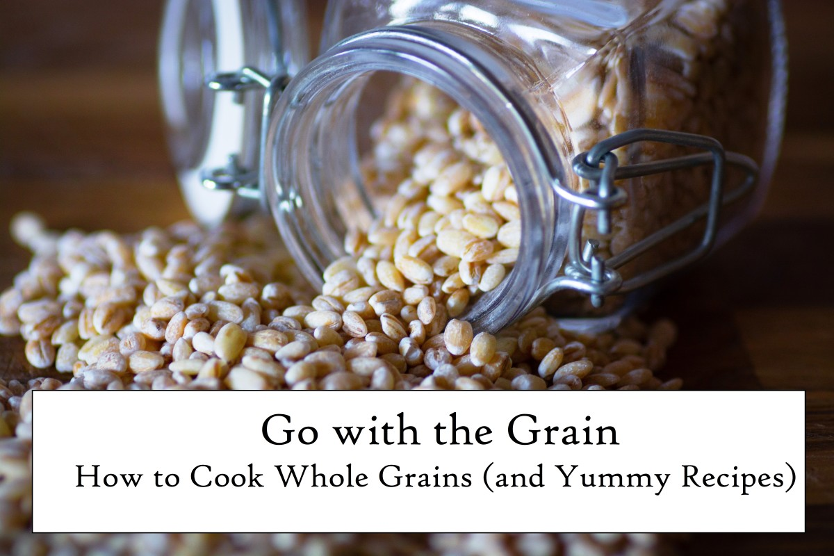 Let's learn about eight different types of whole grains.