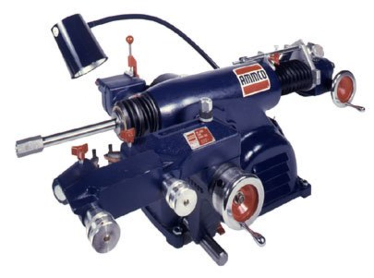 Ammco 400 brake lathe without bench or tools.