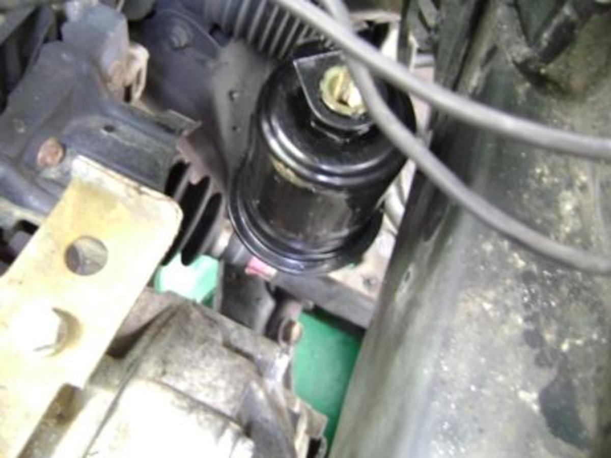 98 camry fuel filter location  98  get free image about