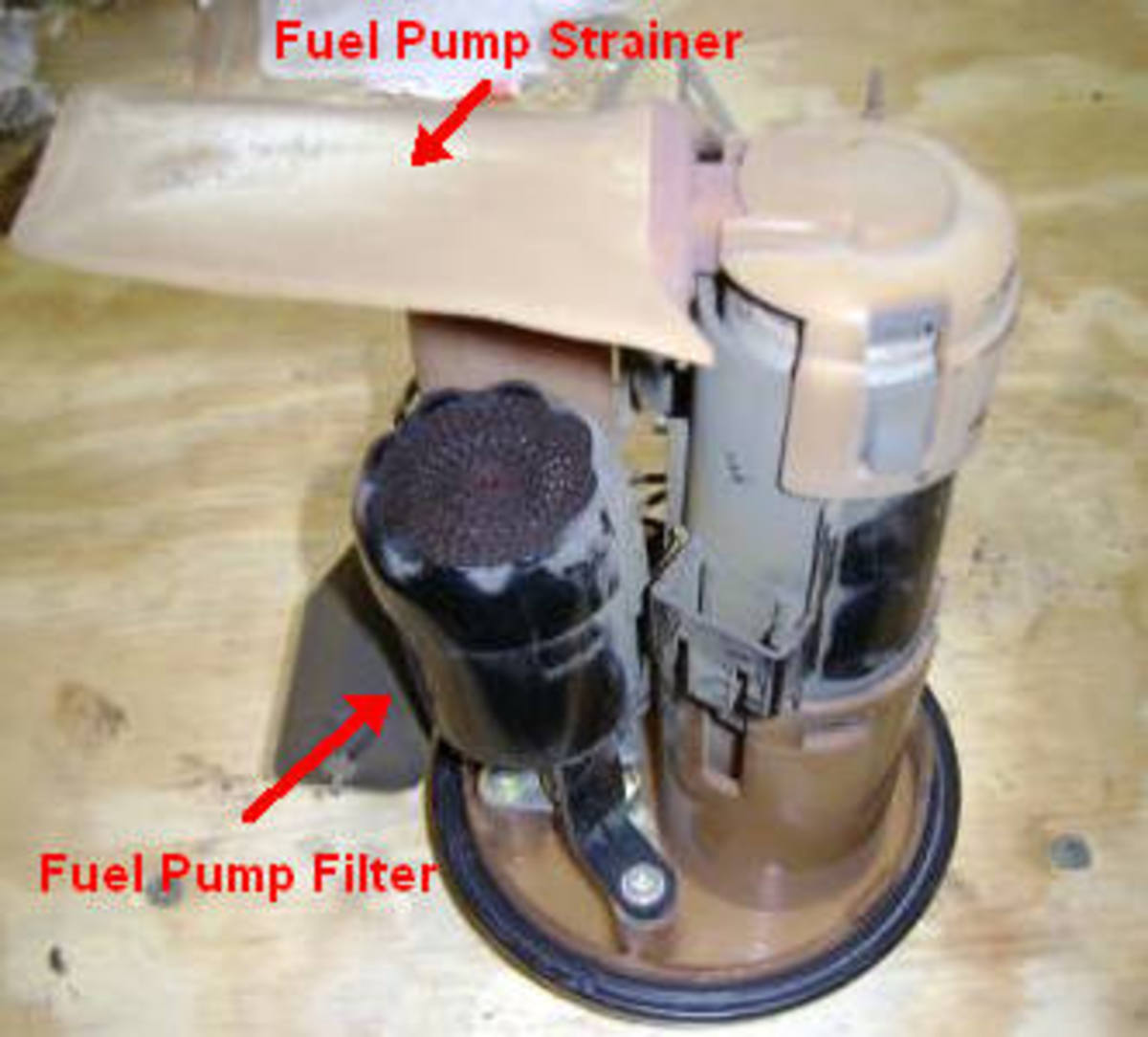 90 01 Toyota Camry Fuel Filter Replacement Throttle