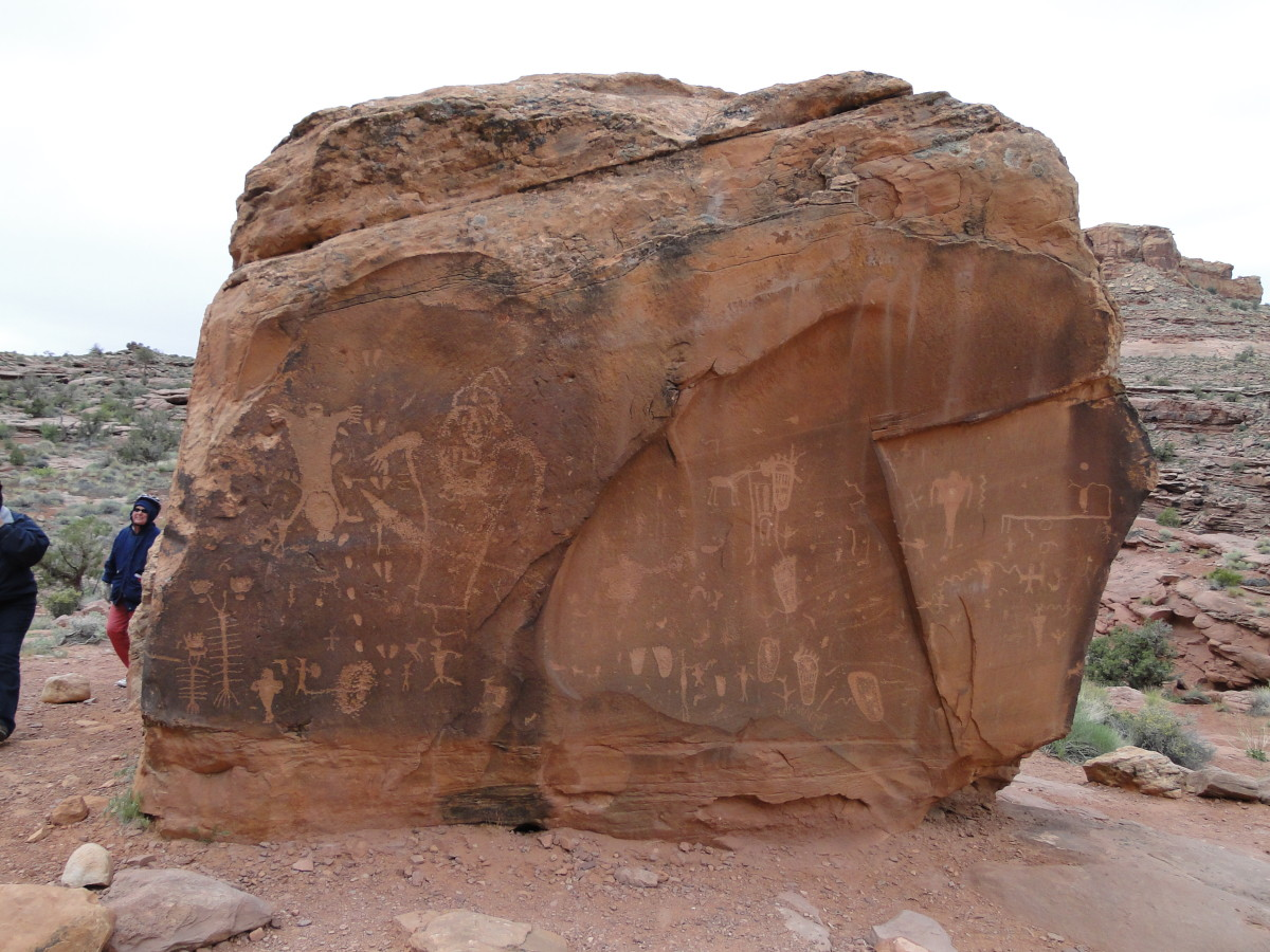 Probably the work of the Anasazi, the artwork of the indigenous people is fantastic.