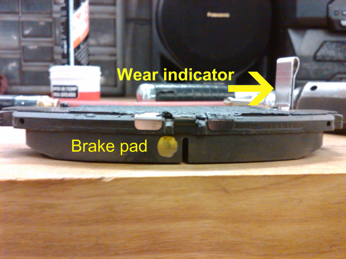 The wear indicator
