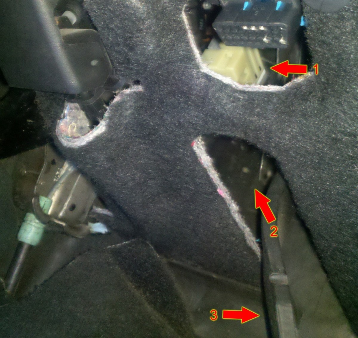 Step 5 Locate The Brake Switch