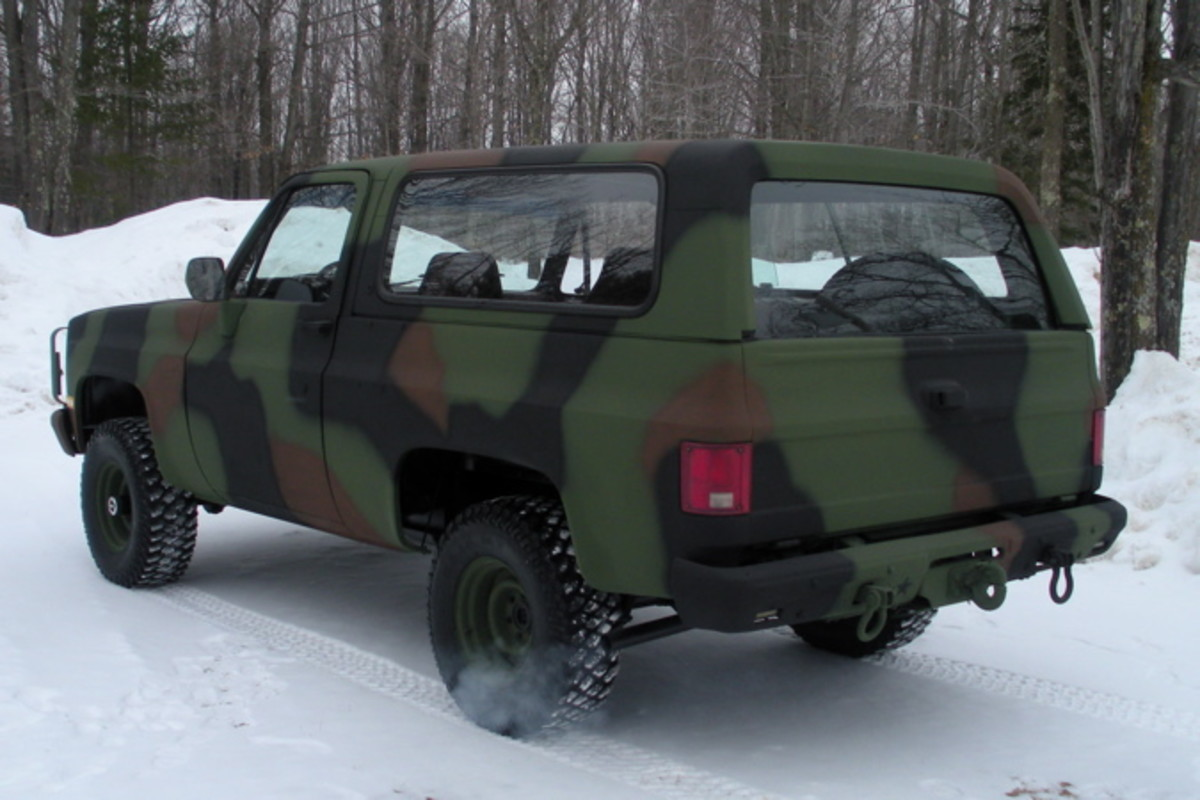 The M1009 CUCV: A Manly, Eco-Conscious, Military-Rejected