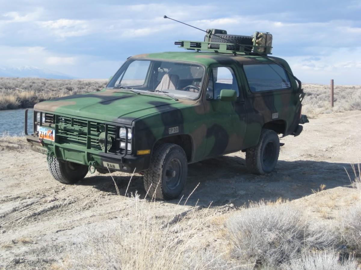 Military M1009 CUCV K5 Blazer