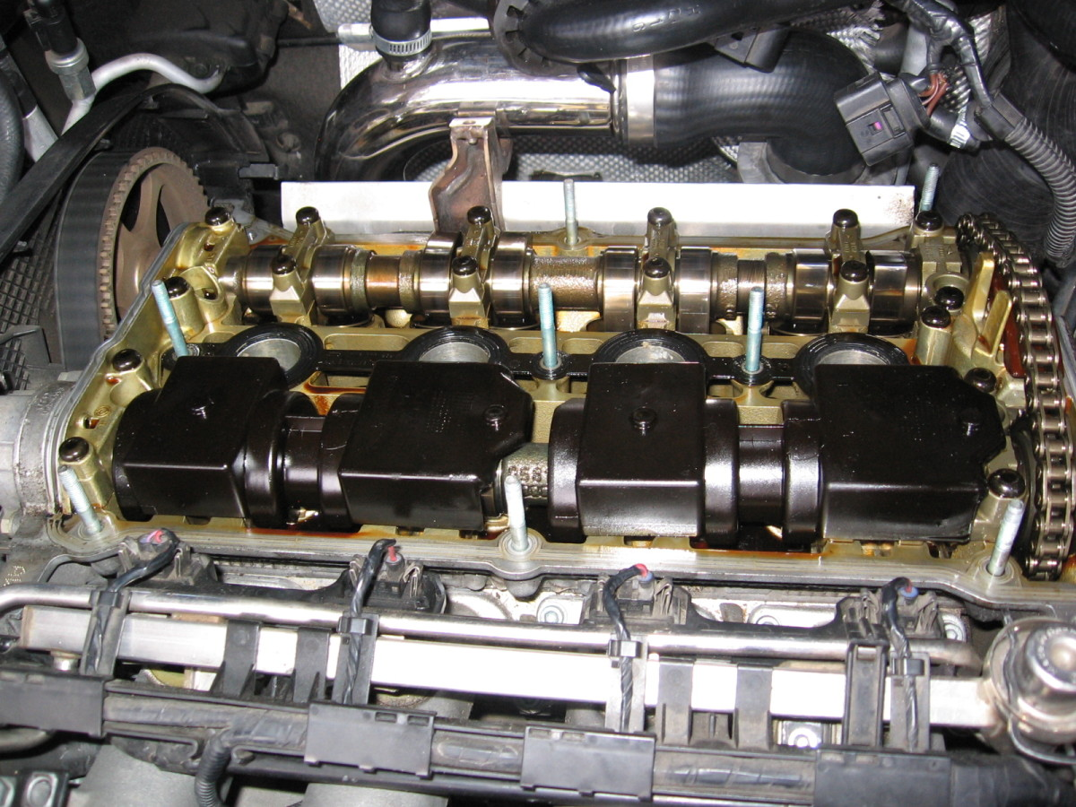 Removing valve cover