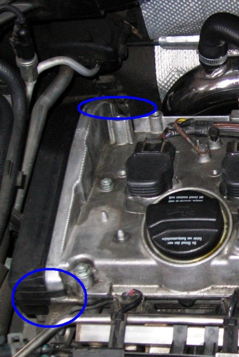 Timing belt cover clips