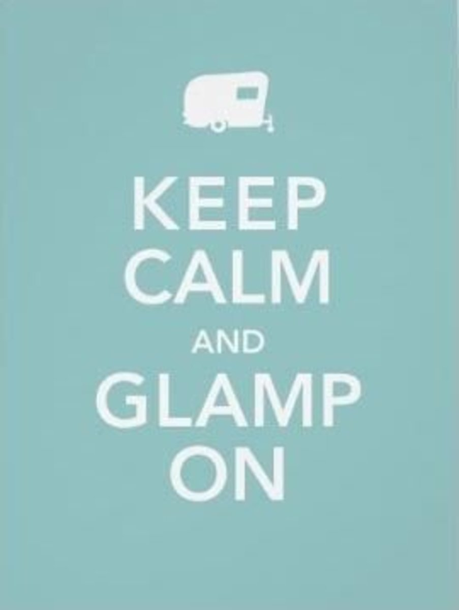 How do you go Glamping?