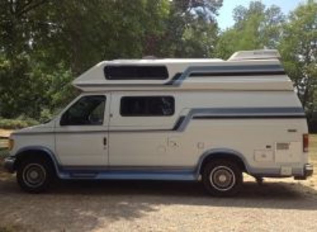 Ford Conversion Van Class B for sale