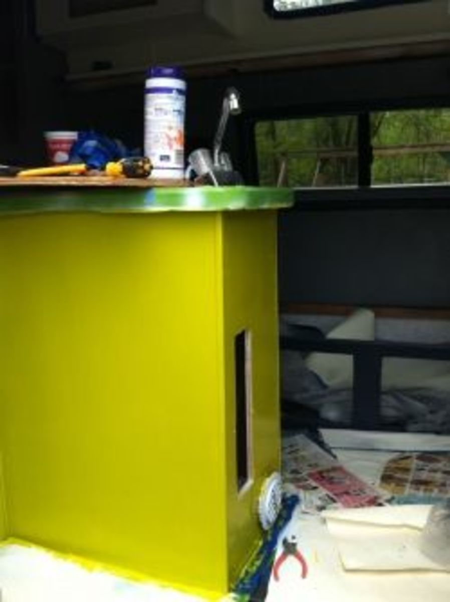 DIY paint job for your camper