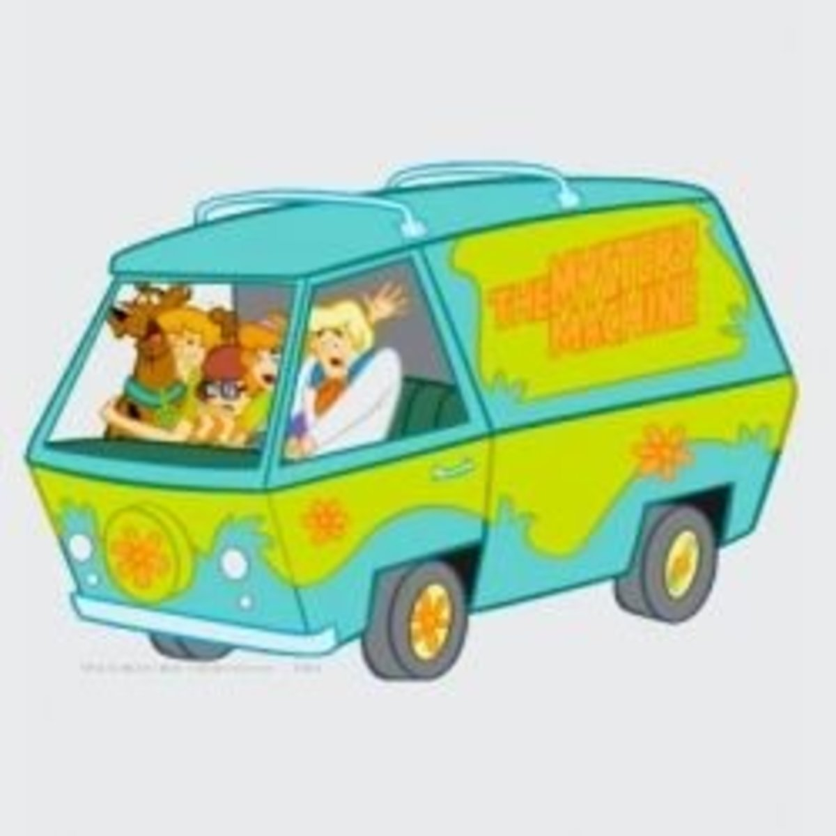 A Van Icon: The Mystery Machine (credit: Zazzle)