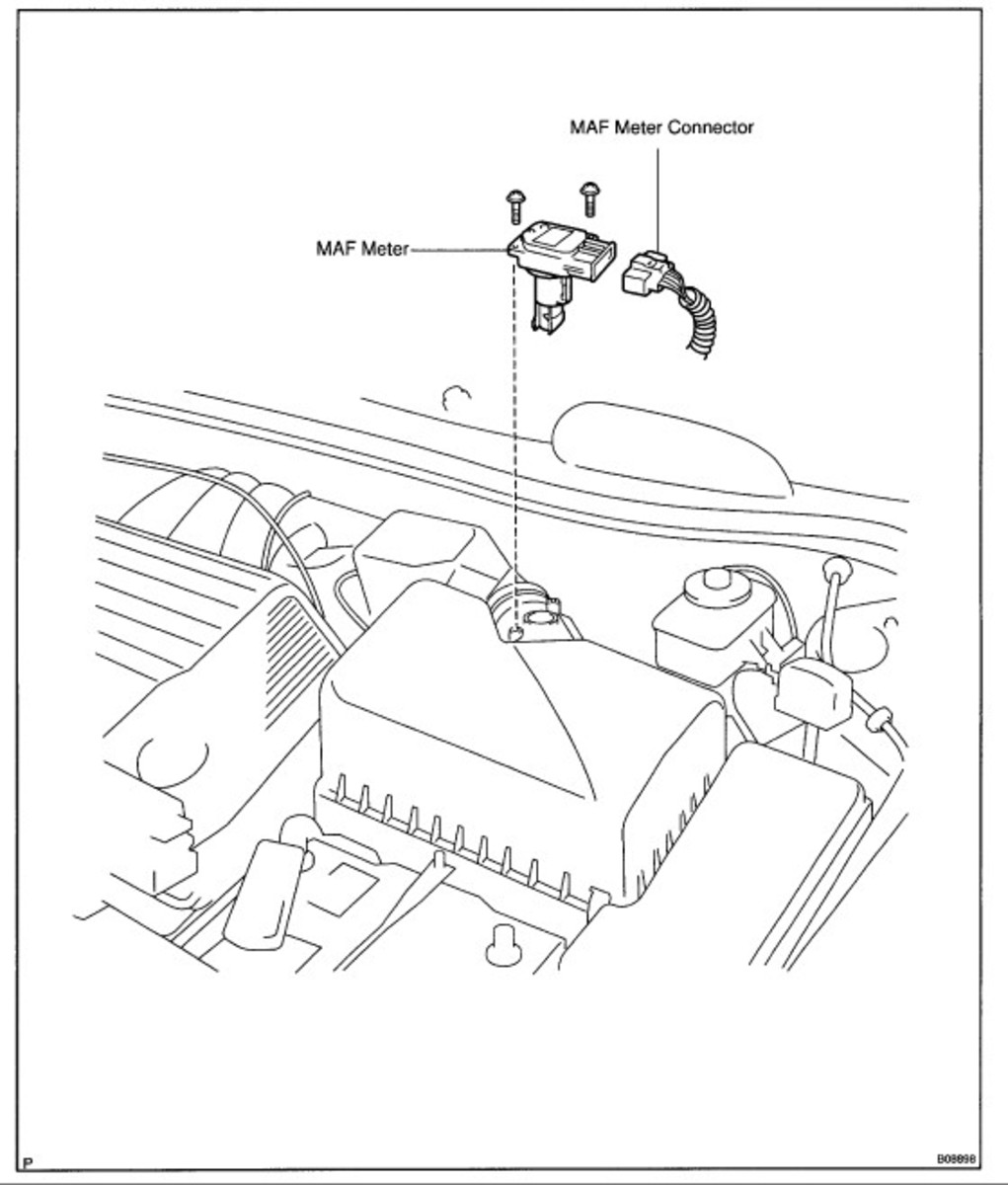 Location Of Maf Sensor: Toyota Tazz Wiring Diagram Manual At Ultimateadsites.com