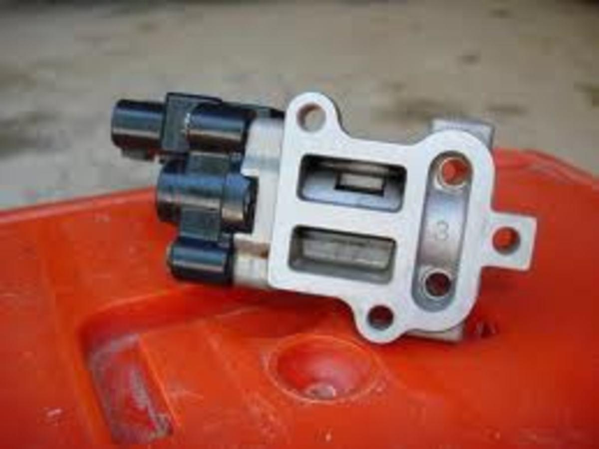 Idle air control valve (Japanese makes).