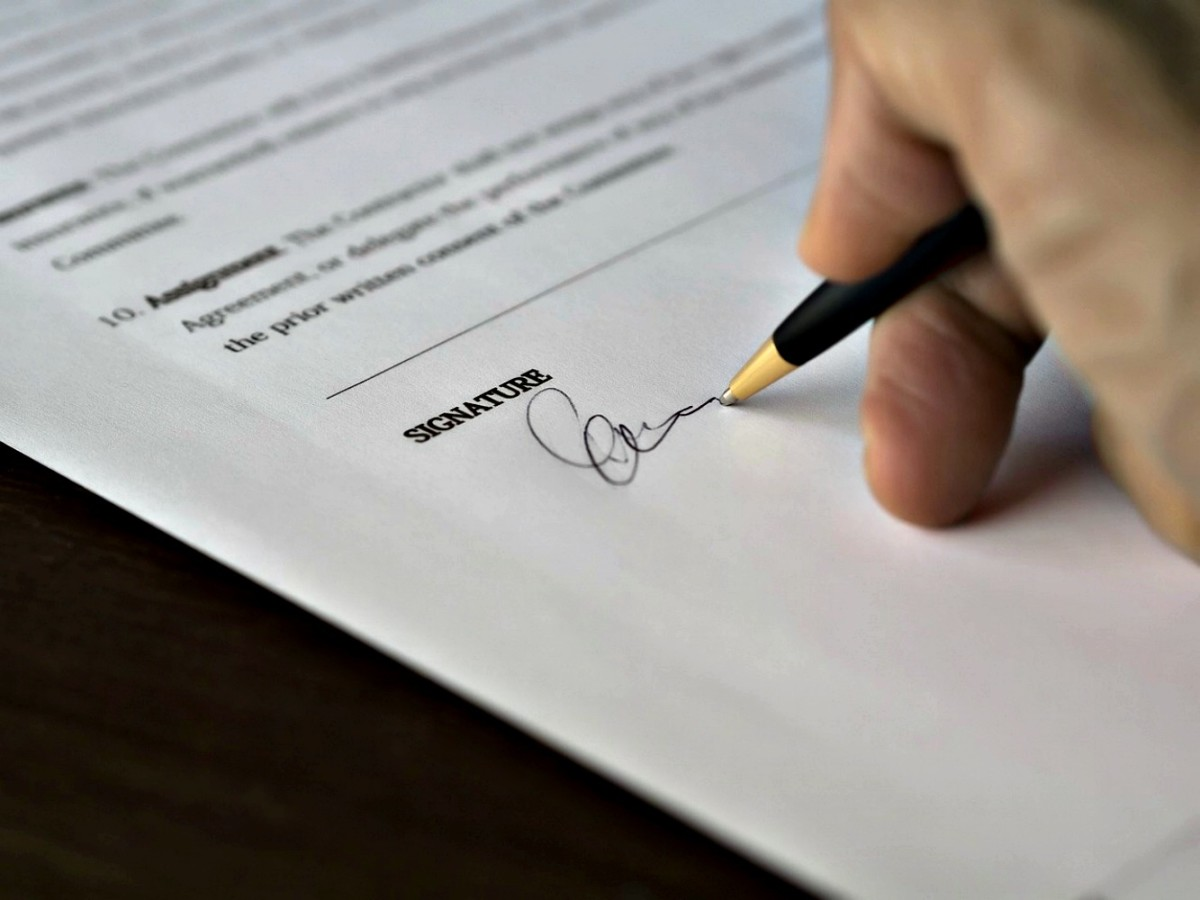 Always have your buyer sign  a complete, correct contract and pay you to seal the deal.