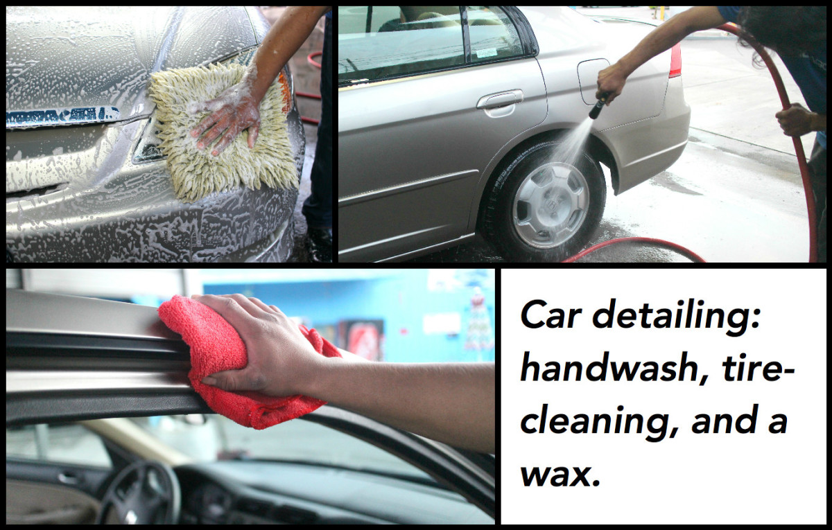 A detailing can take between four and six hours. Make an appointment in advance.