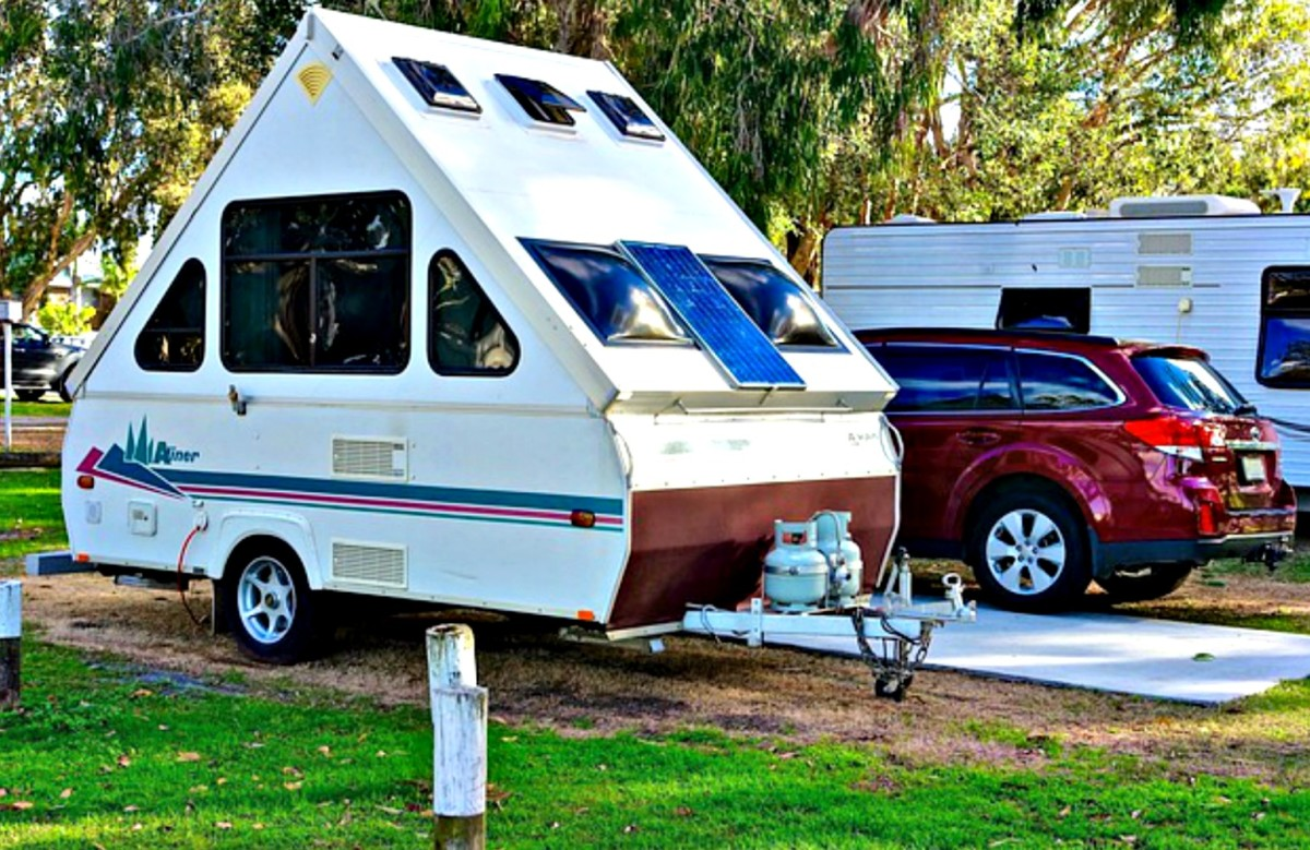 It is much less expensive to own a smaller, more simply made recreational vehicle.