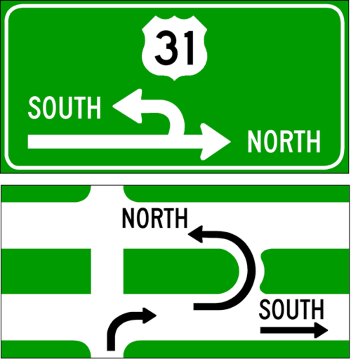 The Michigan Left Turn on Red