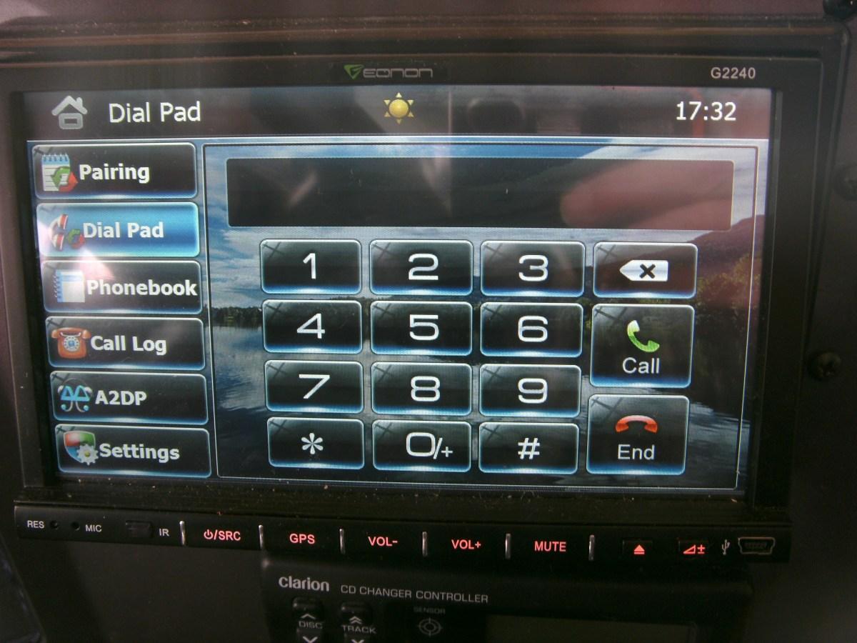 Bluetooth screen