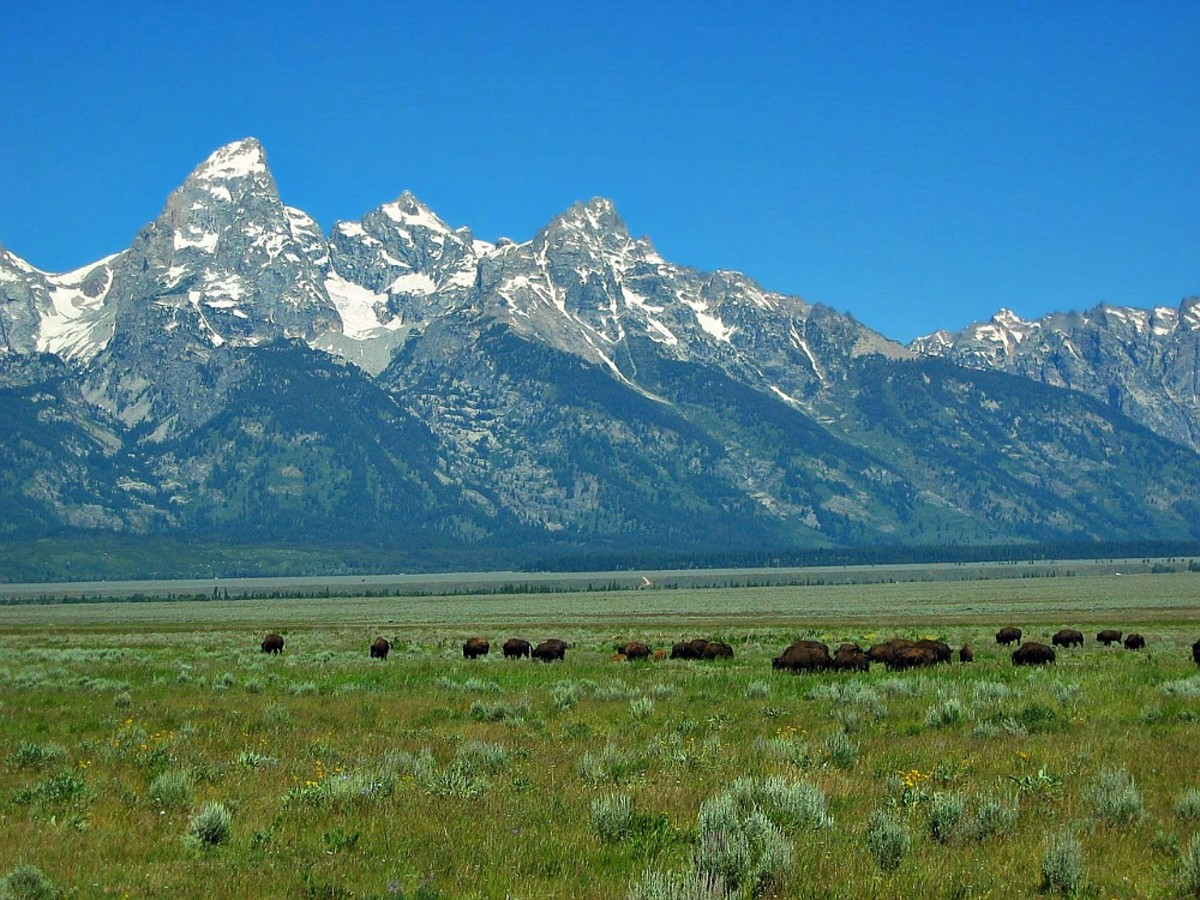 The Grand Teton National Park is a perfect RV destination because of its great beauty.
