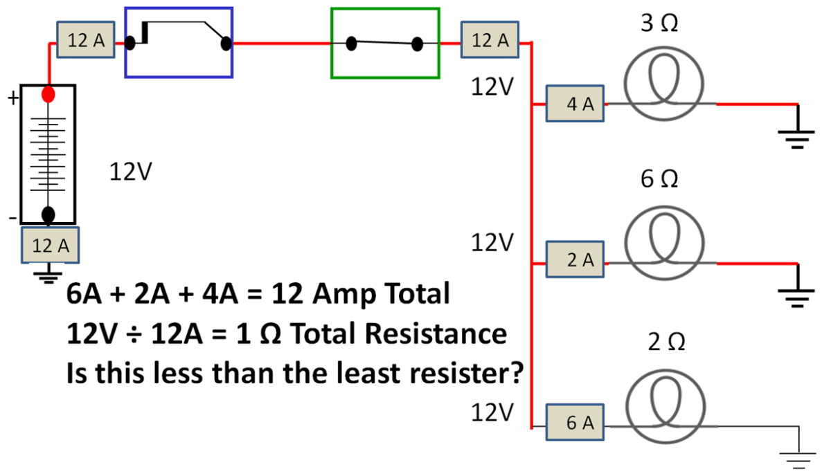 Series Parallel Circuit.
