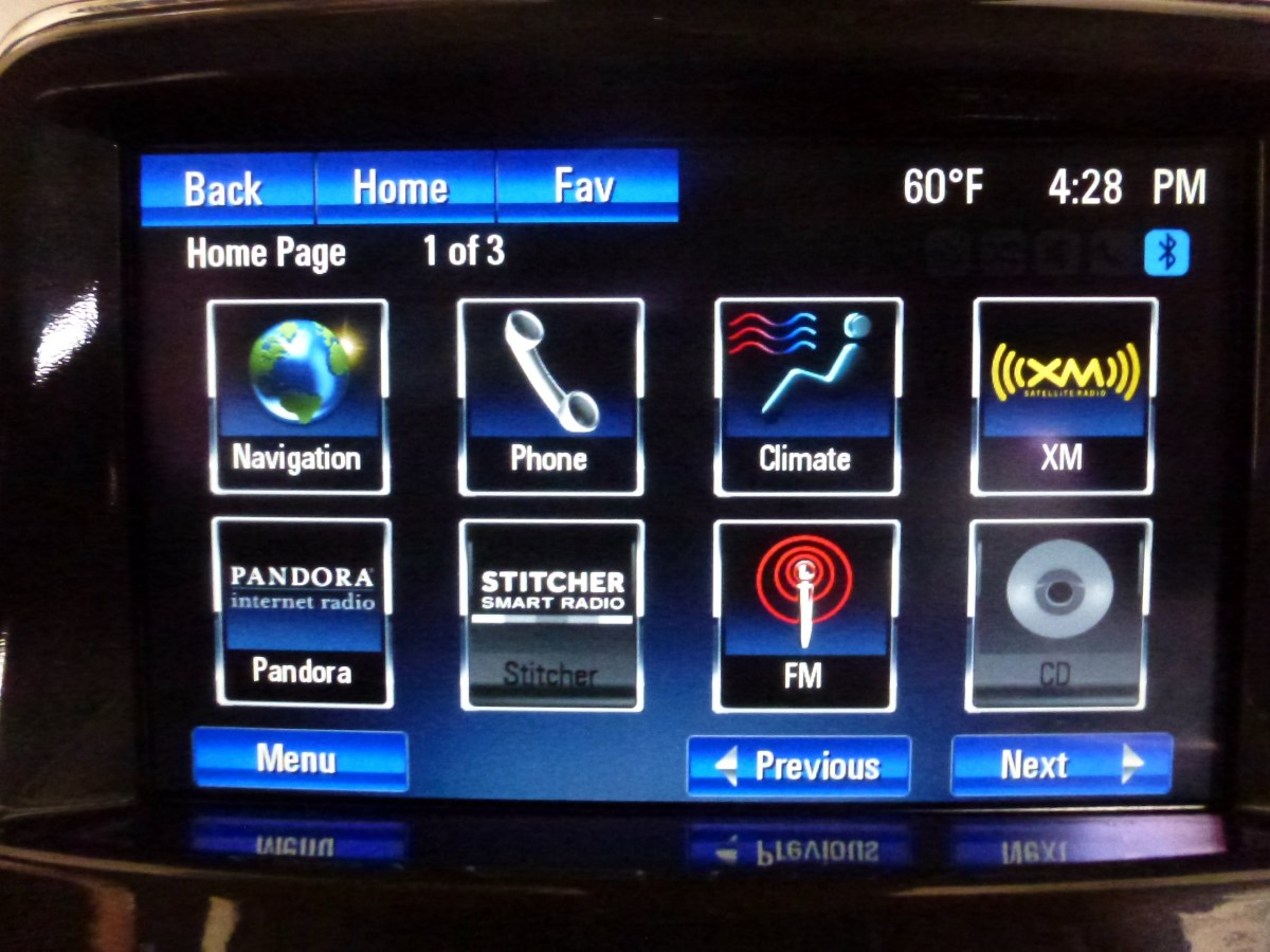 Just some of the things that can be adjusted on the Volt.