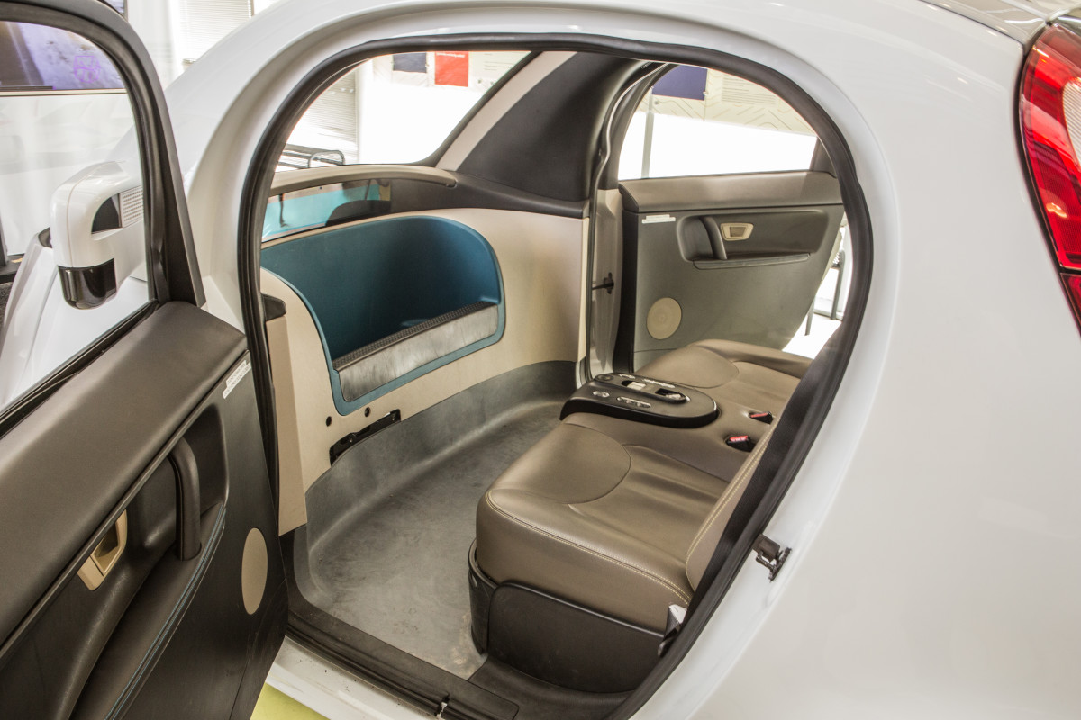 Without the need for human-operated controls, the interior of the autonomous vehicle will have lots of room for other activities.