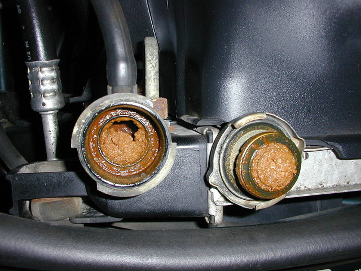 Replace the coolant on time to avoid sediment and corrosion in the cooling system.