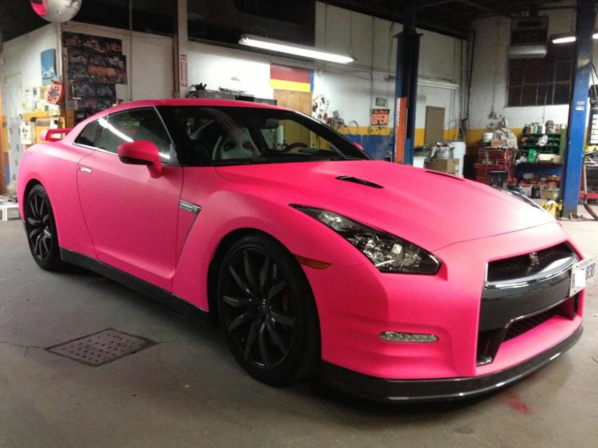 You can paint your car with Plasti Dip in a variety of colors.