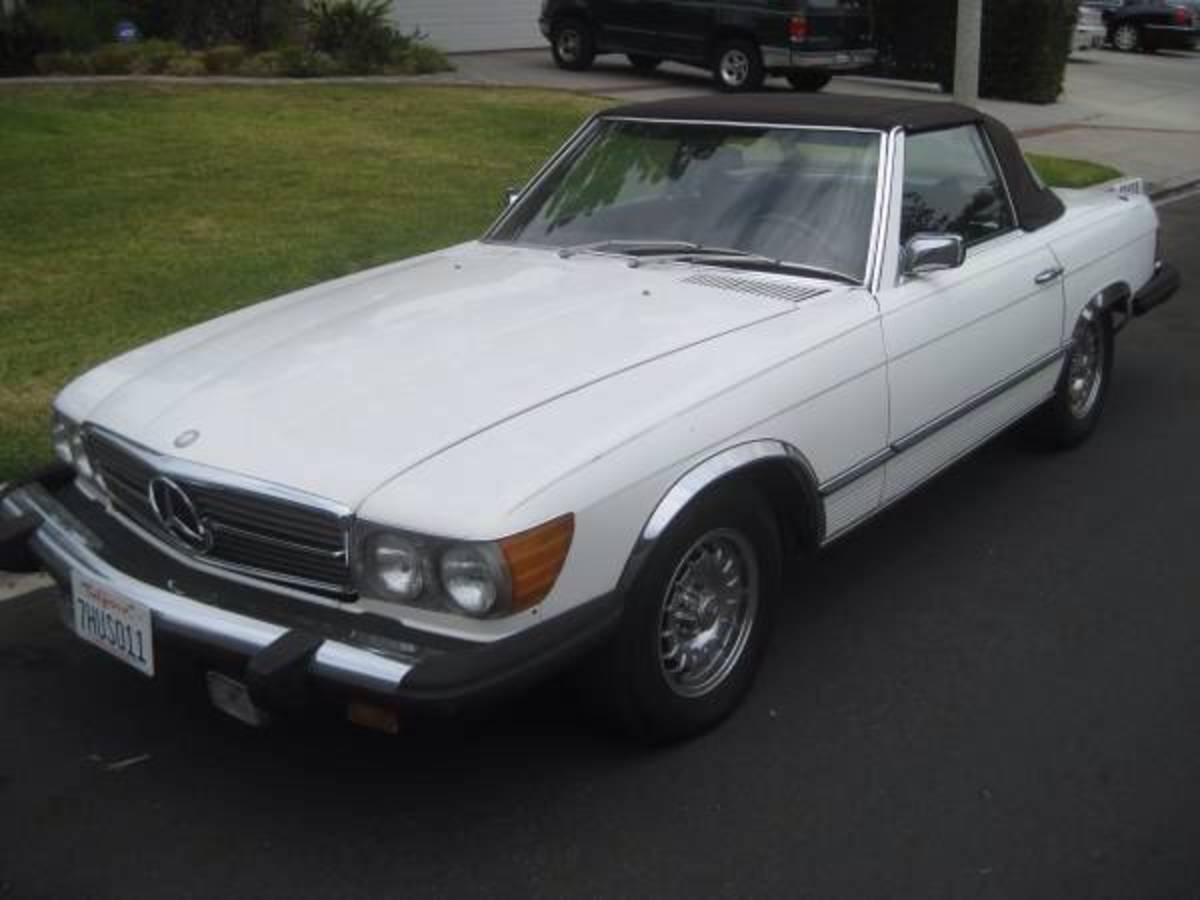 1975 450SL.  Asking price: 9,000
