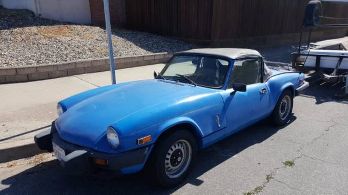 1979 Spitfire.  Asking price: $2,000