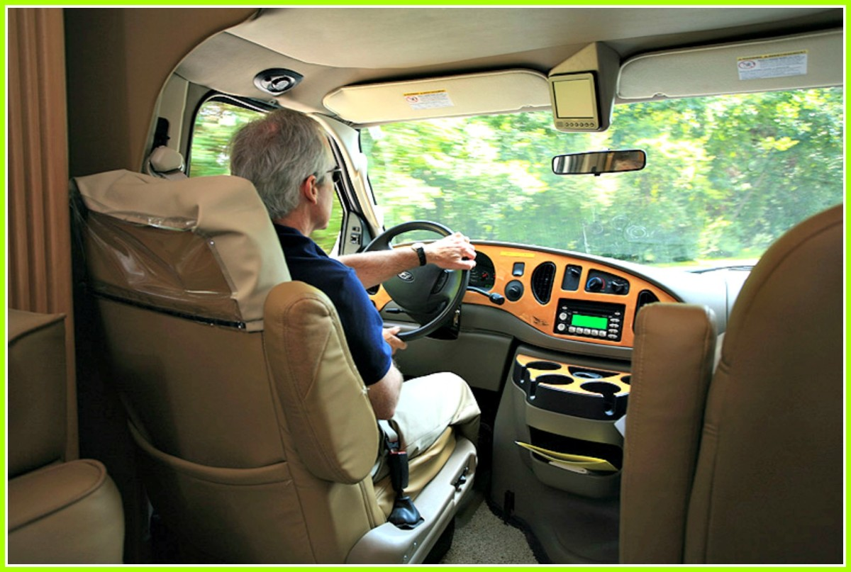 Driving a recreational vehicle can be very stressful.