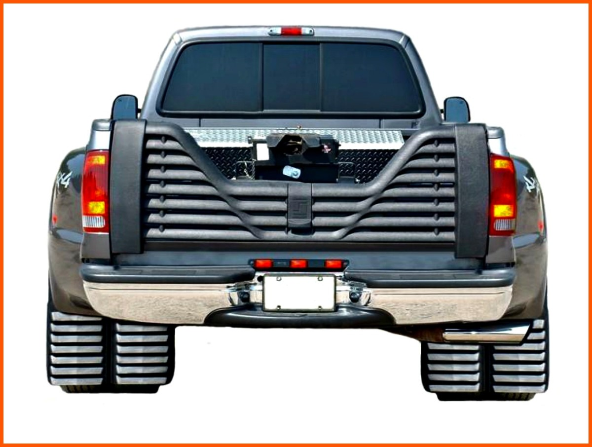 Dual rear tires can safely support more weight than singletons and thus are safer to use for carrying heavier campers.