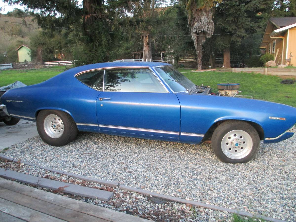 This Chevelle doesn't look bad, but look at the picture below, and you can see how it really looks.
