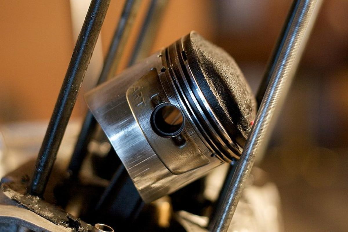 Carbon buildup on pistons and valves will increase engine temperature.