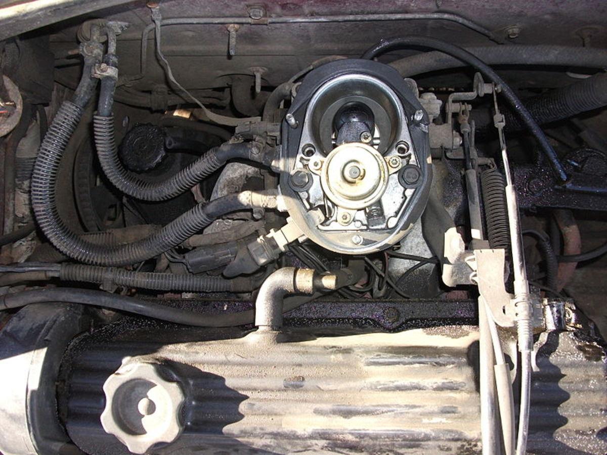 Locate the IAC around the throttle body.