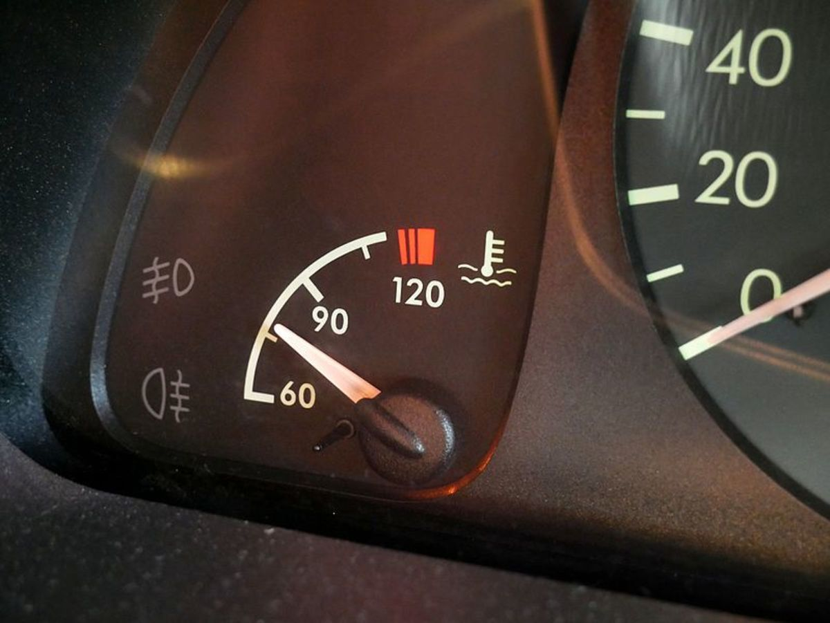 When bad, some components can affect engine performance only at certain temperatures.