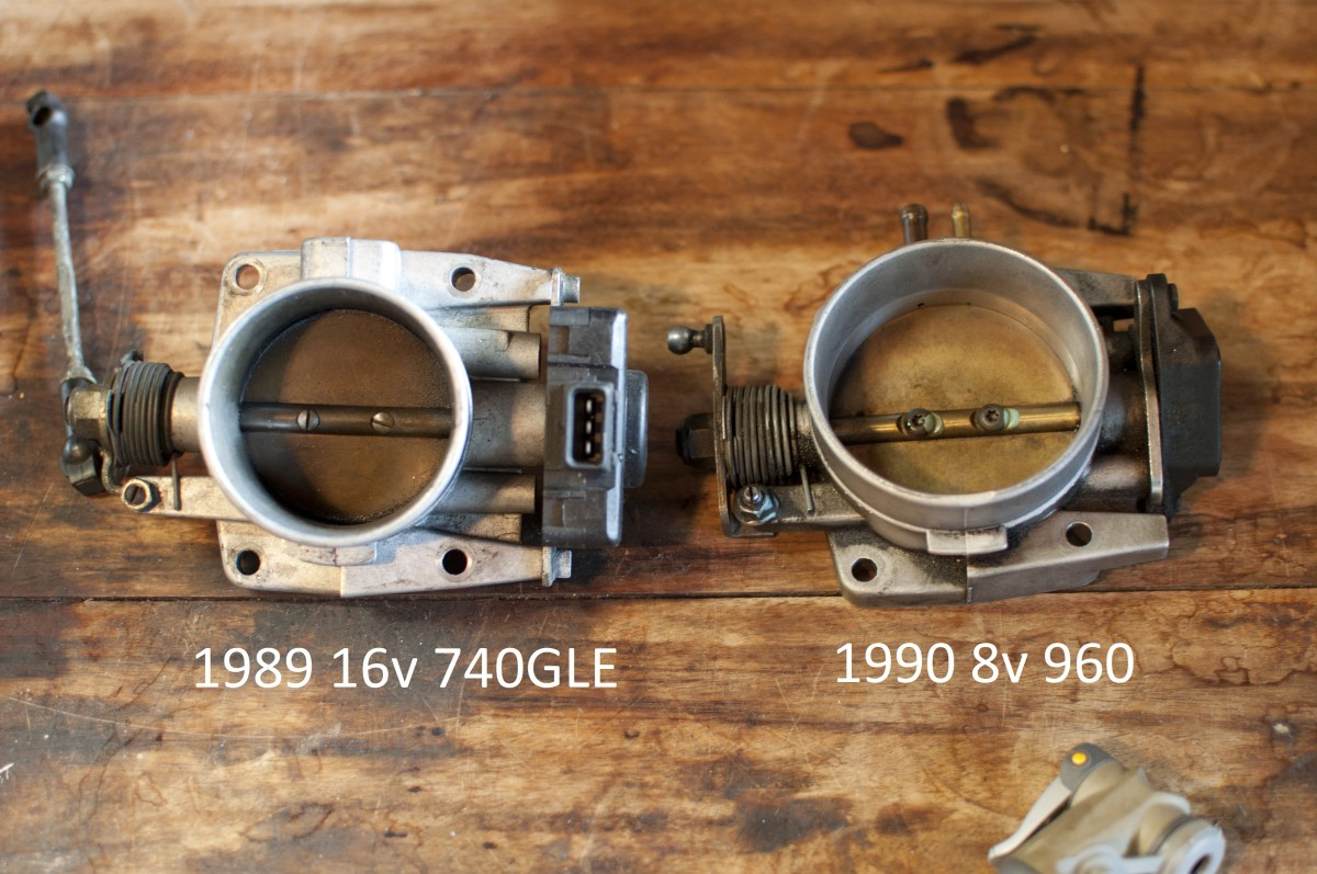 Remove buildup from the throttle body and plate.